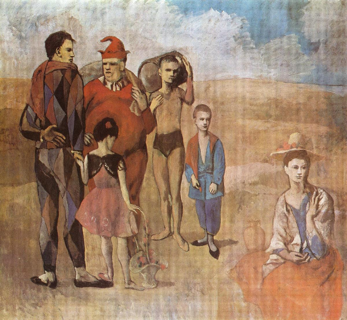Family-of-Saltimbanques-(1905)