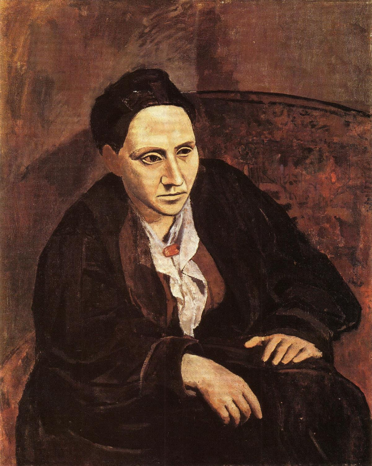 Portrait-of-Gertrude-Stein-(1905-6)