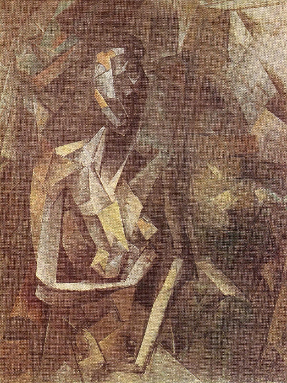 Seated-Nude-(1909-10)