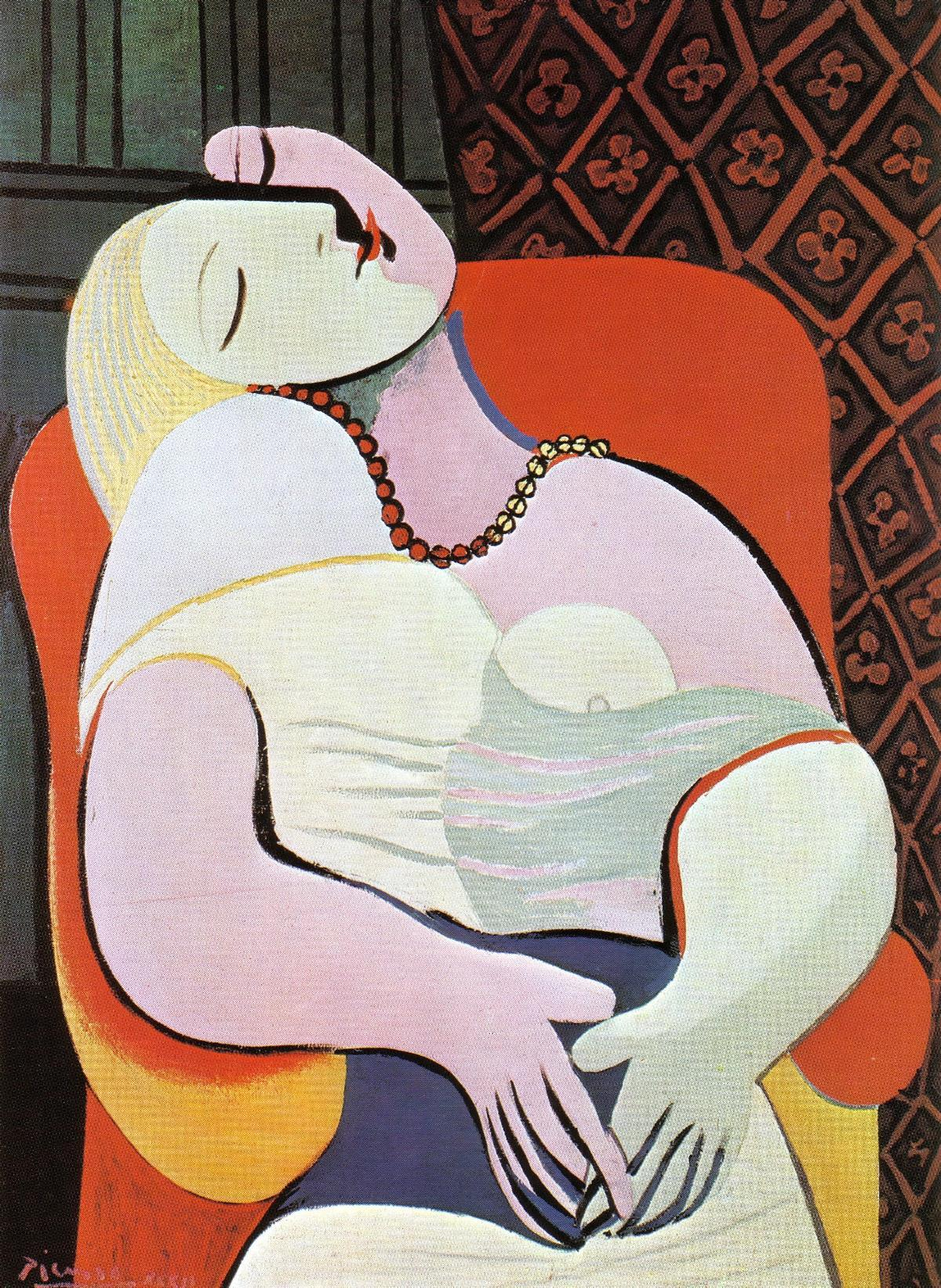 Woman-Asleep-in-an-Armchair-(The-Dream)-(1932)
