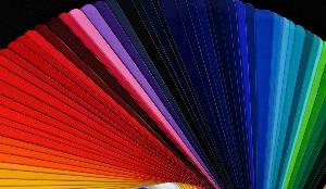 gamme des couleurs