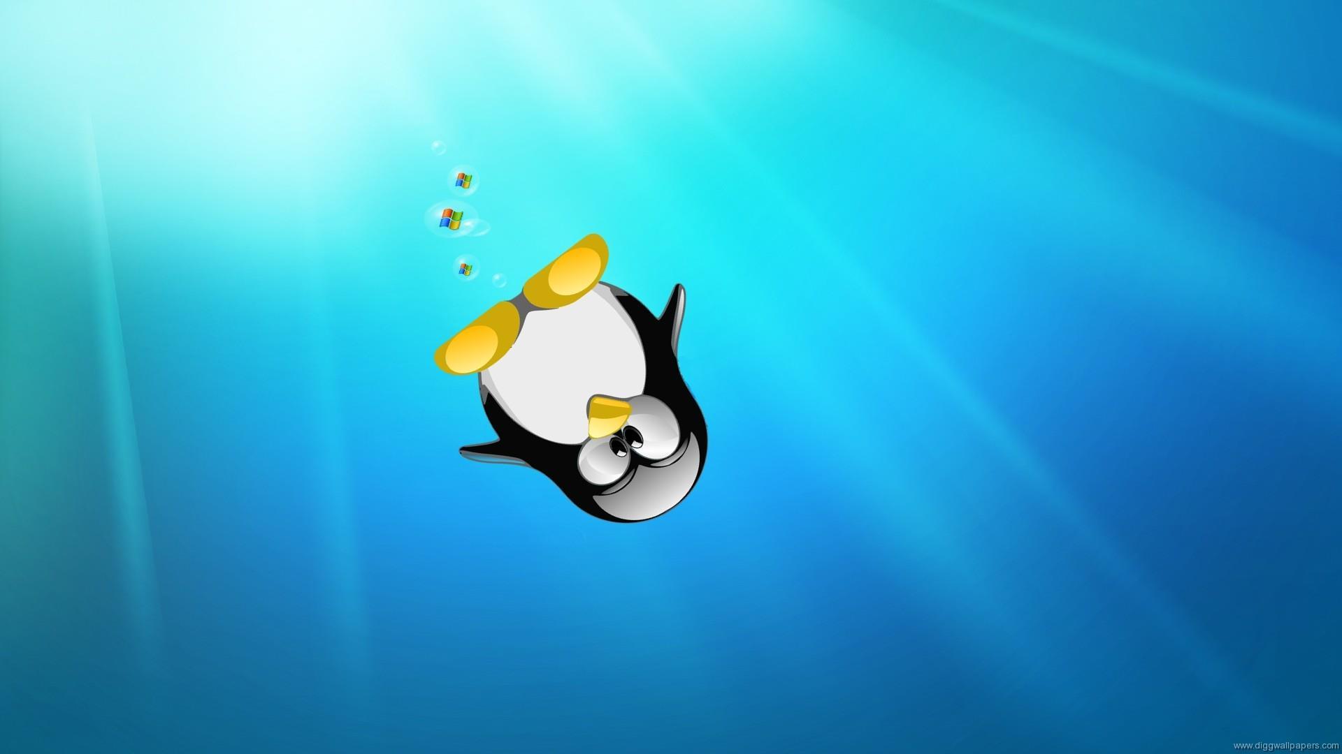 linux-ubuntu-wallpaper-OS-free-tux-le-manchot_4