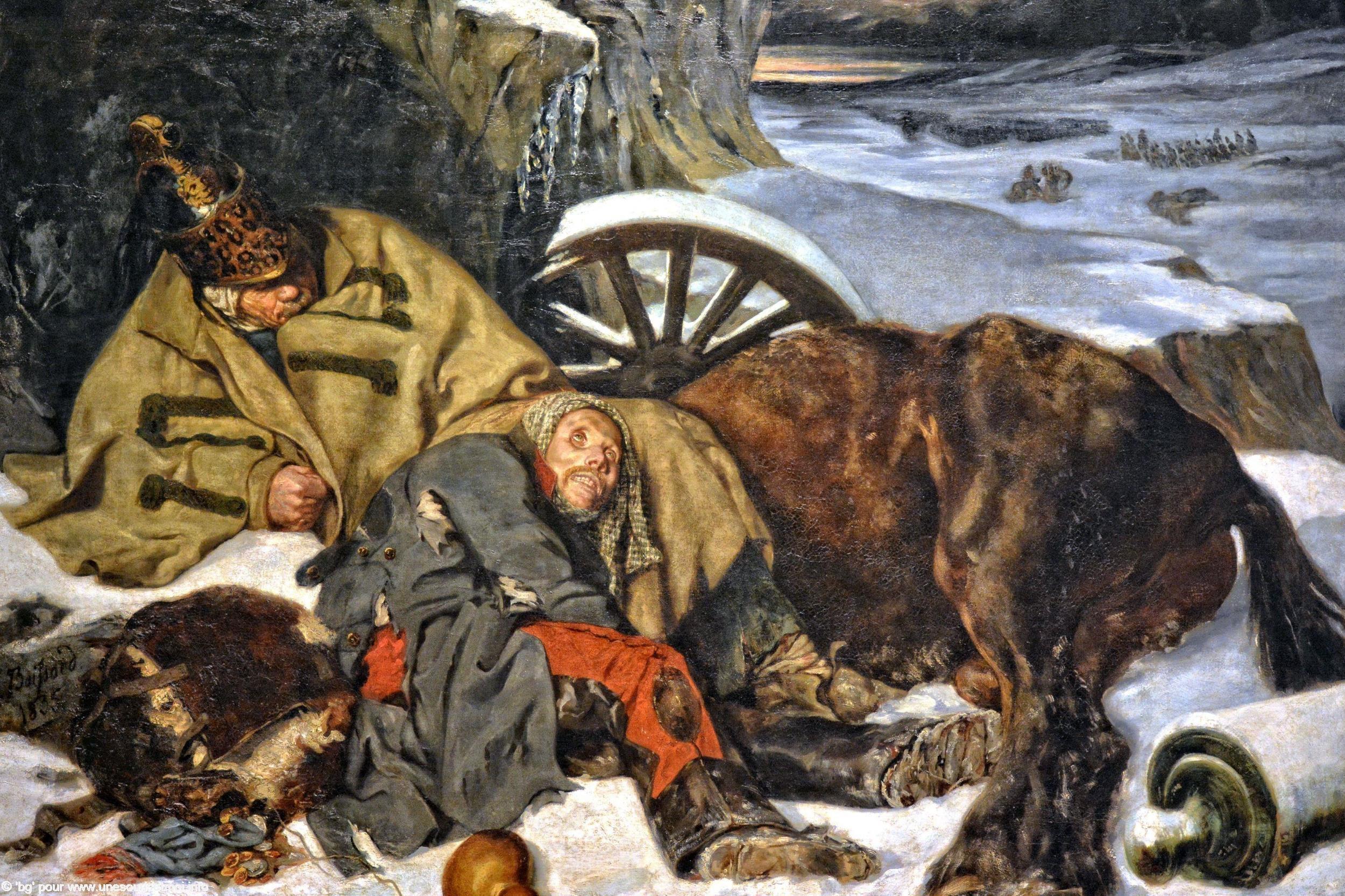 guerres-napoleoniennes-la-retraite-de-moscou-joseph-ferdinand-boissard-de-boisdenier-1835-huile-sur-toile