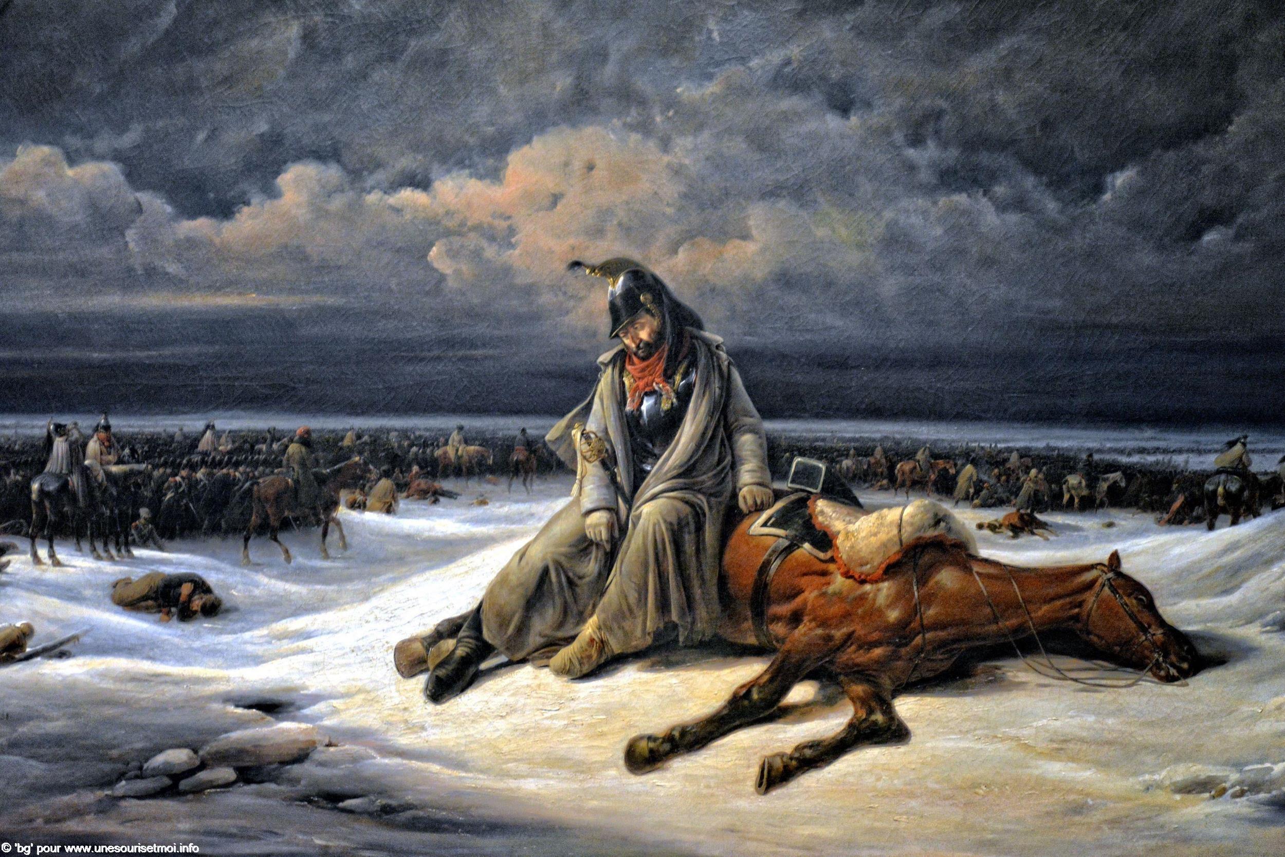 guerres-napoleoniennes-retraite-de-russie-bernard-edouard-swebach-1938-huile-sur-toile