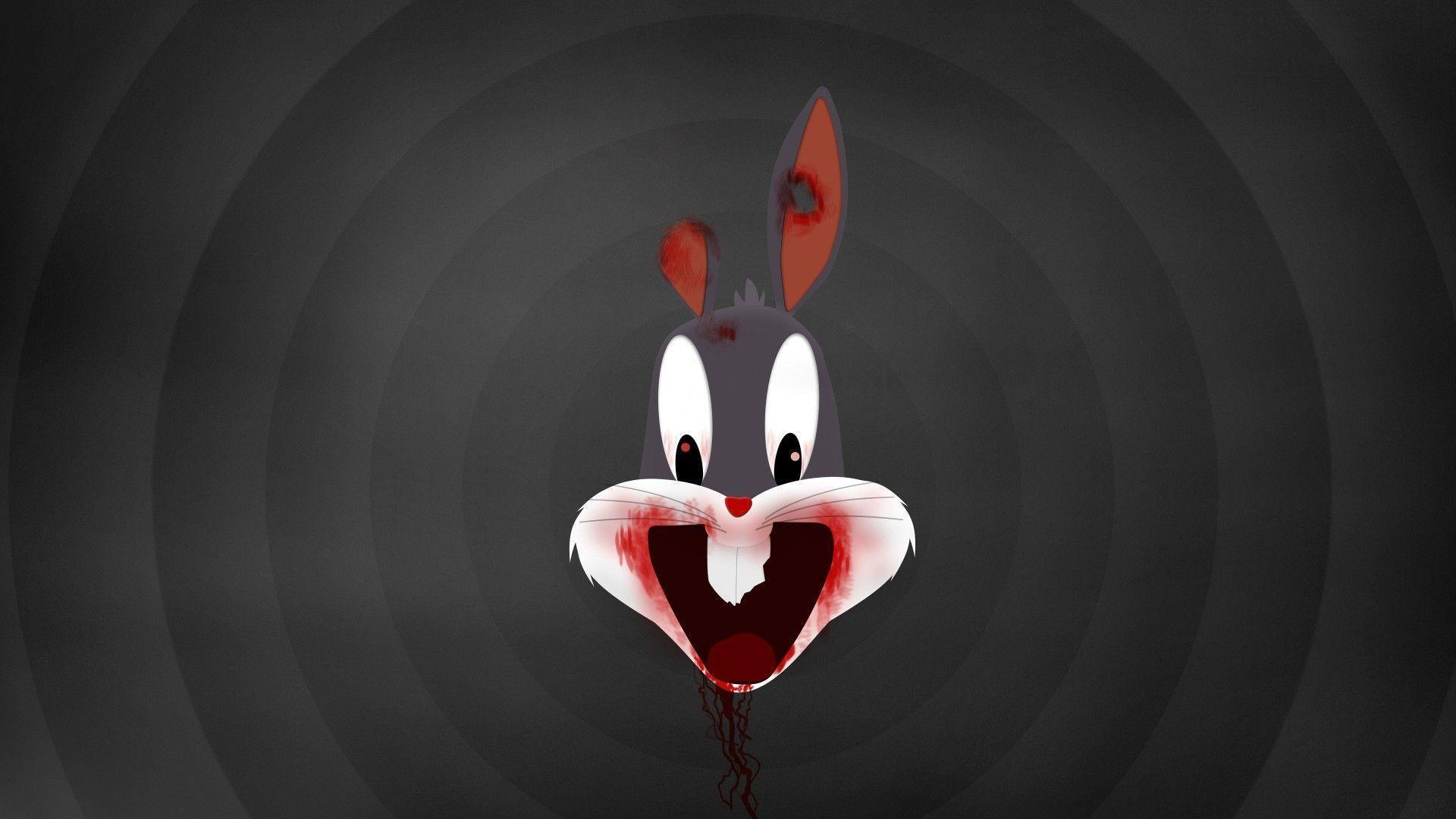 cartoons-zombie-bugs-bunny-wallpaper-HD