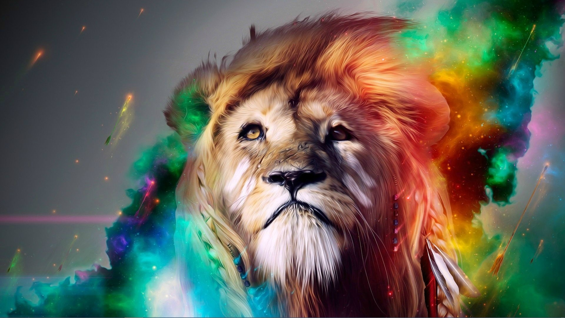lion-painting