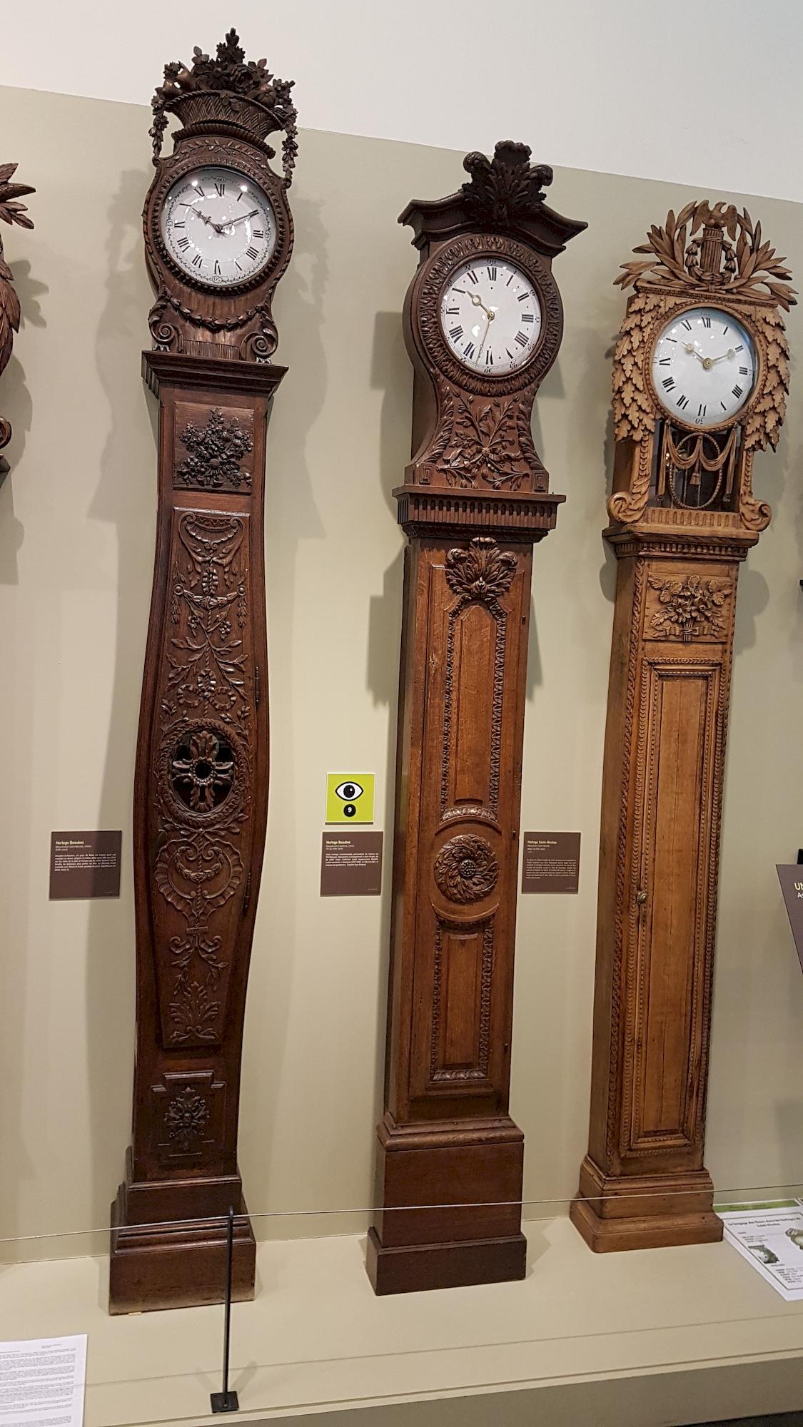 trois-grandes-horloges-musee-de-l-horlogerie-Saint-Nicolas-d-Aliermont