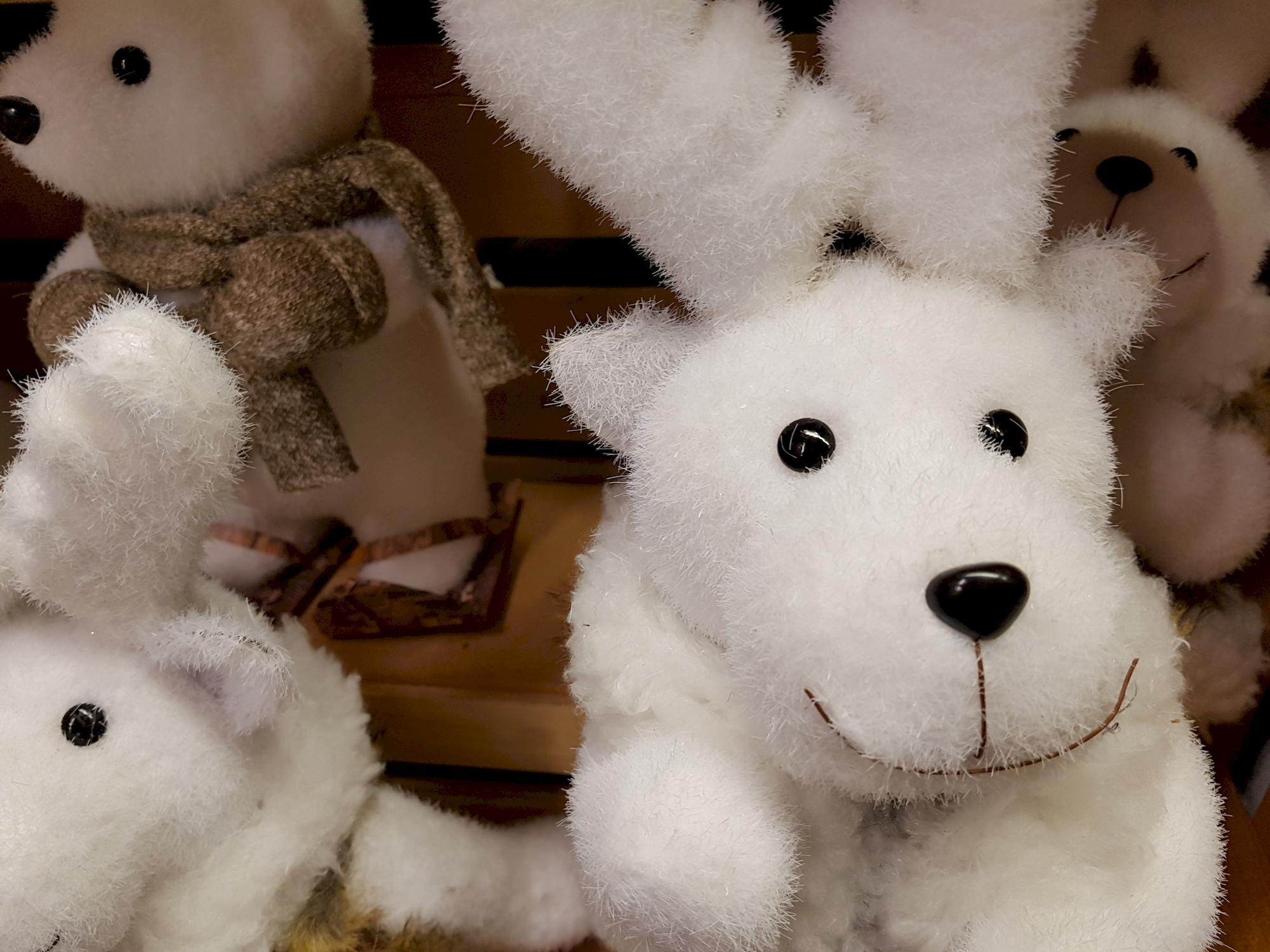 peluches-blanches-decoration-de-noel-bon-prix