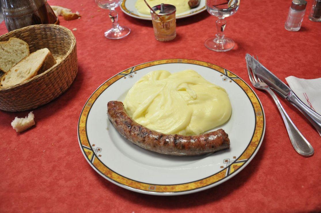 puree-saucisse